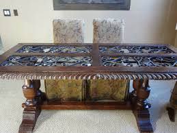 how to refinish a wood table refinished black dining room table best pictures with refinishing a