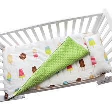 cotton baby crib bedding set quilt pillow with filling baby