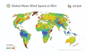 World Map Of Tornadoes by Global Mean Wind Speed Map Climate Warm Average 2014