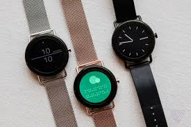 smartwatch android falster skagen s touchscreen smartwatch the verge