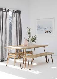 Scandi Dining Table The Perfect Look 10 Inspiring Dining Table And Chair Combinations