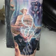 amazing big trouble in little china tattoo sleeve geekologie