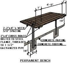 Construction Plans For A Wooden Bench by Landscape Construction Earth Kind Landscaping