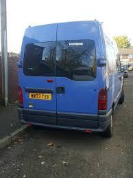 renault master minibus renault master minibus 8 1 2003 great brunner celan van in