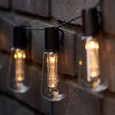 vintage light bulb strands led solar powered vintage edison bulb string lights garden outdoor