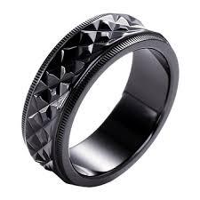 korean wedding rings black zirconium ring korean wedding rings jewelry china 2016 new