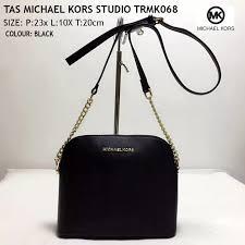 michael kors mk 盪 tas michael kors miny sling bags trmk068 hitam
