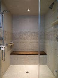 Small Teak Shower Stool Walk In Shower With Bench Ideas 2ba Homeideasite Com