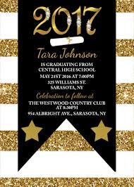 glitter graduation invitation graduation invitations class of 2017