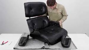 Used Eames Lounge Chair How To Restore An Eames Lounge Chair With Broken Arm Rest Shock