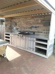 meuble cuisine exterieur inox meuble cuisine exterieure bois barbecue gaz inox grand meuble