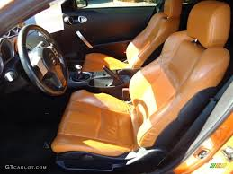 Nissan 350z Orange - burnt orange carbon black interior 2003 nissan 350z touring coupe