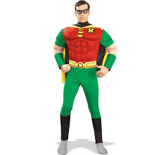 dc comics robin muscle chest buycostumes com