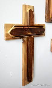 rustic crosses beyond the picket fence rustic reclaimed wood crosses