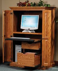 Amish Computer Armoire 33 Amish Furniture Computer Armoire Oak