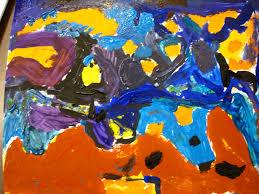 second graders explore expressive line with vincent van gogh