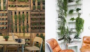 coole wandgestaltung coole wandgestaltung ideen mit paletten diy vertikaler garten mit