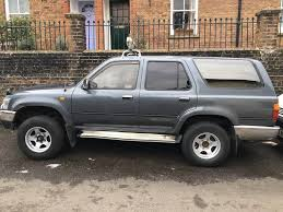 toyota hilux surf 4x4 2 5l 1992 automatic in steyning west