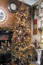 Black And Gold Christmas Tree Decorations Silver And Gold Christmas Tree Theme Christmas Lights Decoration