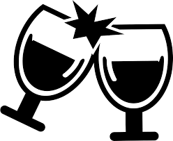 whiskey glass svg wine glasses cheers svg png icon free download 58030