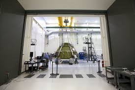orion pressure vessel passes pressure test at kennedy space center