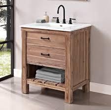 fairmont designs bathroom vanities napa 30 open shelf vanity sonoma sand fairmont designs