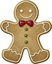 gingerbread man clipart make a garland from it or enlarge it to