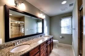 Mirror Framed Mirror Bathroom Pleasant Framed Mirrors Bathroom Large Th Shelf White Framed
