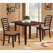 table and 2 chairs set holland house 1237 dining three piece drop leaf table and ladder