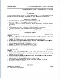 Exles Of Server Resume Objectives Server Resume Skills Exles Exles Of Resumes
