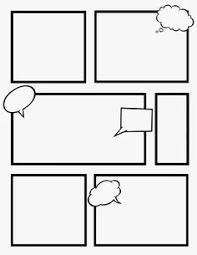 blank comic strips and separate word bubbles pinterest