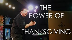 the power of thanksgiving sermon kennis