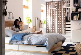 Ikea Bedroom Ideas Incredible Furniture Minimalist Modern Bed - Modern ikea small bedroom designs ideas