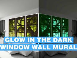 important window murals wallpaper tags window murals teal