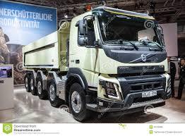 volvo dump truck volvo fmx dump truck editorial image image 45108065