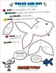 scribble blog inspiring creativity fish puppet