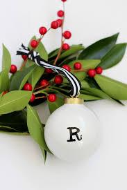 and loisdiy initial ornaments