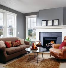 gray walls tan couch didn u0027t think it would work but i like it