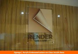 clear acrylic l base acrylic sign boards letters name board manufacturers chennai