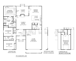 the floor plan of a new building is shown modern house plans simple residential plan architecture design