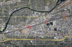 Spokane Map How Coal And Oil Trains Will Block Traffic In Spokane County