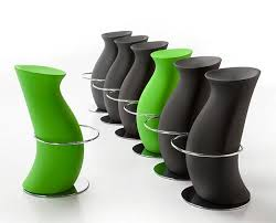 Designer Bar Stools Kitchen Modern Bar Stools And Kitchen Countertop Stools In Soft Round Shapes