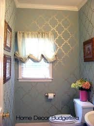 bathroom stencil ideas wall stencil wall stenciling stenciling and royals