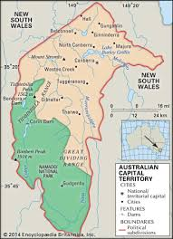 territories of australia map australian capital territory flag facts maps points of