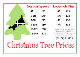 christmas tree prices christmas tree prices single poster kehelland trust
