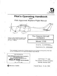 cessna 172s poh pdf airspeed flap aeronautics