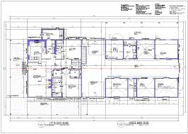 Barn Plans Equestrian Living Quarters