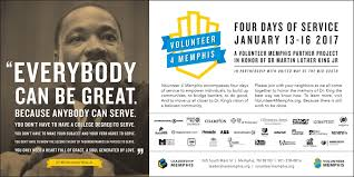 ways to honor martin luther king jr day 2017 choose901