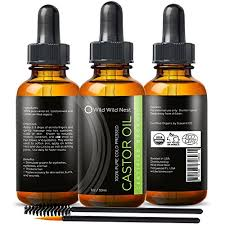 organic castor oil 100 usda certified pure cold pressed hexane