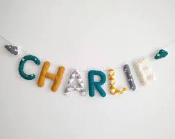 lettre decorative pour chambre bébé chambre bébé etsy